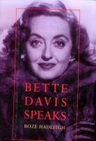 Bette Davis Speaks