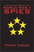 The Encyclopedia of World War II Spies