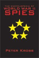 Encyclopedia of World War II Spies