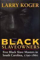 Black Slaveowners
