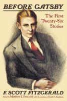 F. Scott Fitzgerald Before Gatsby