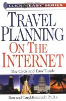 Travel Planning on the Internet
