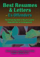 Best Resumes & Letters for Ex-offender's