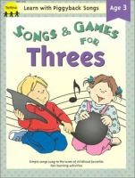 Songs & Games for Threes