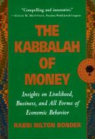 The Kabbalah of Money