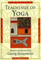 Teachings of Yoga