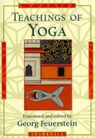Teachings of Yoga