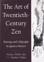 The Art of Twentieth-century Zen