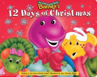 Barney's 12 Days of Christmas