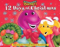 Barney's 12 Days of Christmas