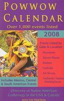 Powwow Calendar 2008