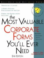 The Most Valuable Corporate Forms You'll Ever Need