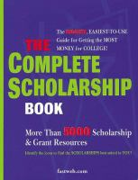 The Complete Scholarship Book