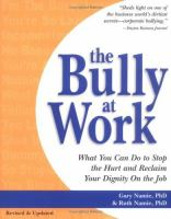 The Bully at Work