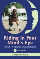 Riding in your Mind's Eye