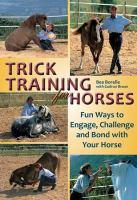 Trick Training for Horses