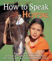 "How to Speak ""horse"""