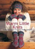 Warm Little Knits book cover
