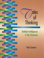 Tales of Thinking