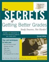 The Secrets of Getting Better Grades