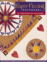 Paper Piecing Potpourri