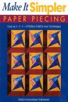 Make It Simpler Paper Piecing