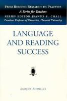 Language and Reading Success