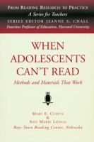 When Adolescents Can't Read