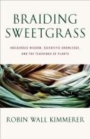 Cover of Braiding Sweetgrass: Indig