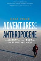 Adventures in the Anthropocene