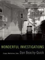 Wonderful Investigations