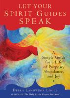 Let your Spirit Guides Speak