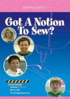 Got A Notion to Sew?