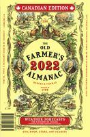 The Old Farmer's Almanac 2022 Canadian Edition
