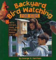Backyard Bird Watching for Kids