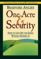 One Acre and Security