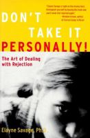 Don't Take It Personally!