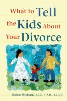 What to Tell the Kids About your Divorce