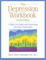 The Depression Workbook