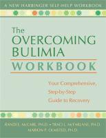 The Overcoming Bulimia Workbook