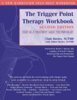 The Trigger Point Therapy Workbook