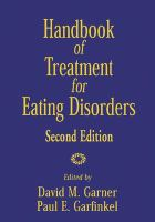 Handbook of Treatment for Eating Disorders