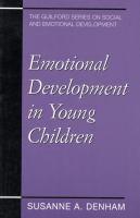 Emotional Development in Young Children