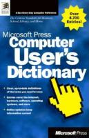Microsoft Press Computer User's Dictionary