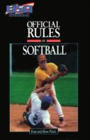 The Official Rules of Softball