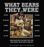 What Bears They Were