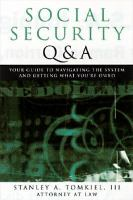 Social Security Q & A
