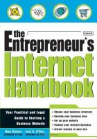 The Entrepreneur's Internet Handbook