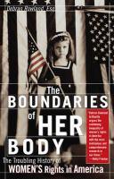 The Boundaries of Her Body