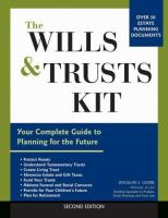The Wills and Trusts Kit